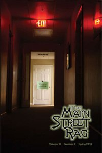 The Main Street Rag, Spring 2013 issue